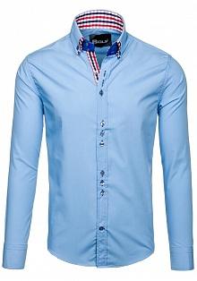 04fd55d0b5619c7 Мужские рубашки с высоким воротом, купить сорочку с высоким воротом в  Dressero